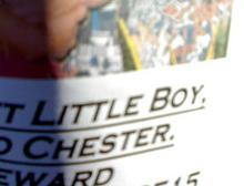 """Missing! """"Sweet Little Boy"""""""