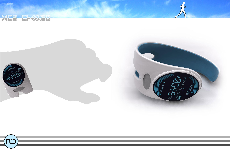 MP3 Sports Wristband Concept