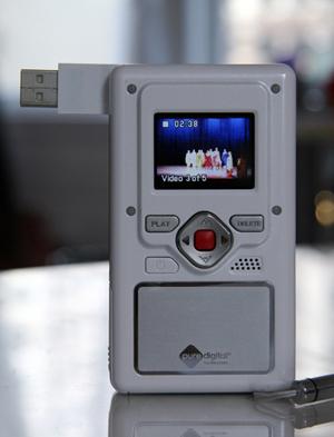 Win A Pure Digital Flip Video Camera!