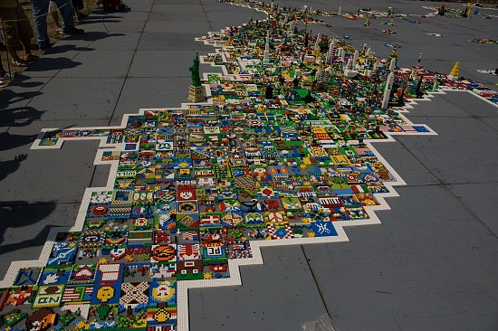 Closer Look: United States Of Lego
