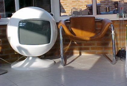 Vintage Geek: Keracolor Sphere TVs