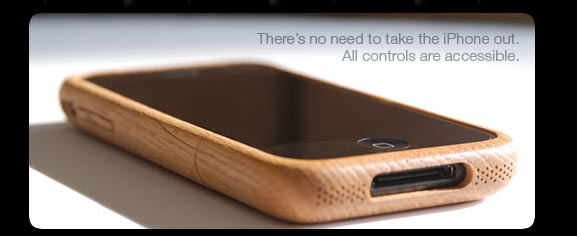 iWood: Luxurious Wooden Cases for iPhone