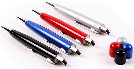 Love It or Leave It? Ballpoint Pen With USB Drive