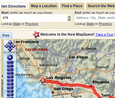Mapquest Gets an Upgrade