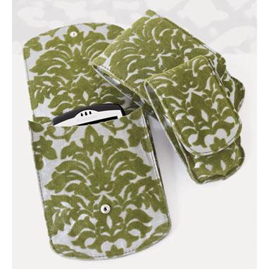 Flocked Leaf Electronics Cases