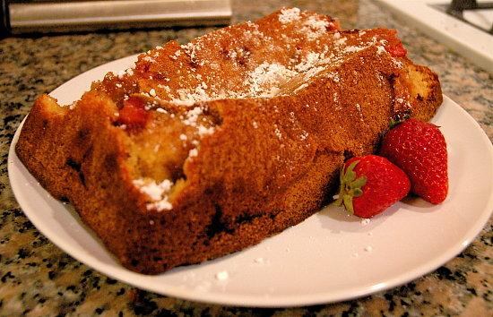 52 Weeks of Baking: Berry Curd Swirl Cake aka Berry Bread Pudding Cake
