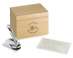 Mother's Day Gift Guide: Personalized Recipe Box, French Wine & Rose Cupcakes