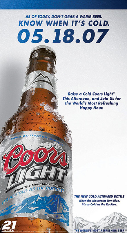 Is Your Beer Cold Enough? Check The Label