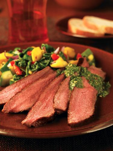 Sunday BBQ: Chimichurri Beef Steak