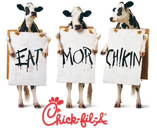 Dress Up Like a Cow, Get a Free Chicken Combo Meal