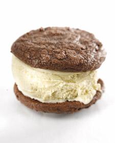 Yummy Link: Chocolate Brownie Ice Cream Sandwiches