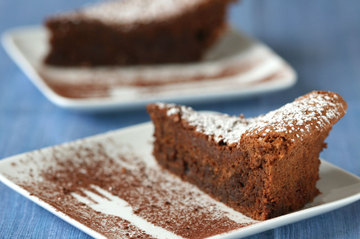 Yummy Link: Nearly Flourless Chocolate Cake