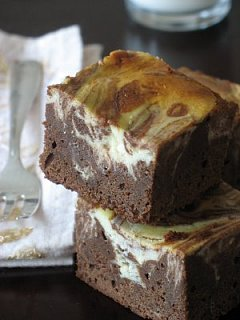 Yummy Link: Marbled Ricotta Cheesecake Brownies