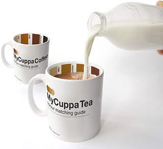 MyCuppa Mugs Determine The Perfect Color