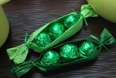 Yummy Link: Chocolate Peas in a Pod