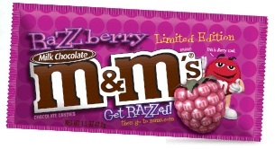 Razzmatazz! M&Ms Launches a Raspberry Flavored Candy