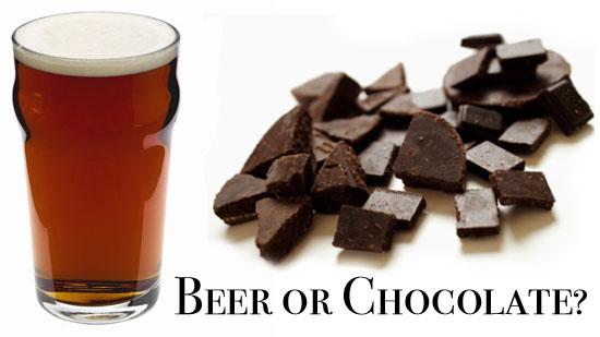 Is It Beer or Chocolate?