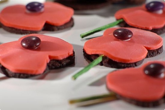 Yummy Link: Red Poppies for Veterans Day