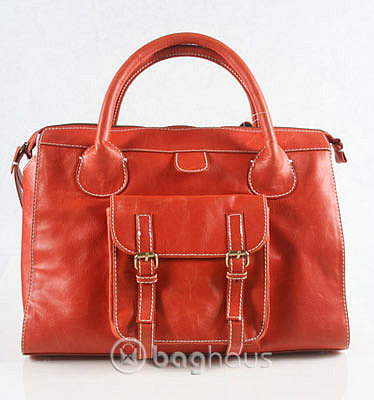 Orange Edith Tote Bag Inspired by Chloe