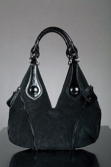 Francesco Biasia Perfect Fit Suede Handbag
