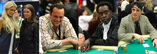 Celebs Ante Up for a Game of Hold 'Em