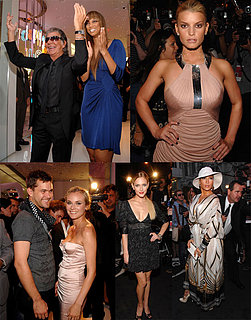 Cavalli Parties With His Famous Friends