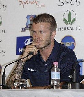 Beckham Down Under