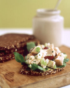 Today's Special: Apricot-Nut Turkey-Salad Sandwiches