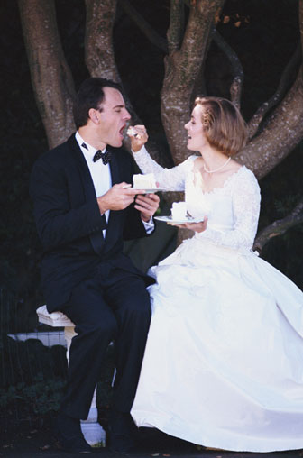 Day Of The Wedding: Don't Forget To Eat!