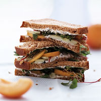 Fast & Easy Dinner: Cucumber and Apricot Sandwiches
