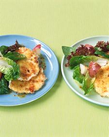 Fast & Easy Dinner: Crisp Goat-Cheese Salad