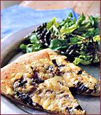 Fast & Easy Dinner: Mushroom & Zucchini Pizza