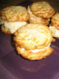 Summer Of Sandwiches: Coconut Macaroon & Creme Brulee