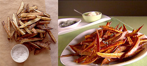 Would You Rather Eat Regular or Sweet Potato Fries?
