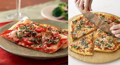 Pizza Margherita Two Ways — Beginner & Expert