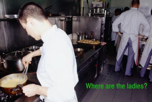 Where Are the Women Chefs?