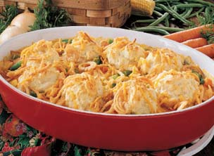 Fast & Easy Dinner: Chicken N Biscuits