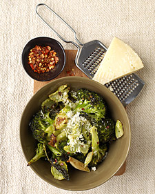 Green Side: Roasted Broccoli