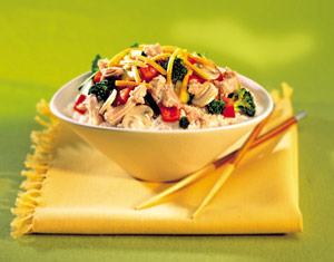 Fast & Easy Dinner: Turkey-Rice Supper