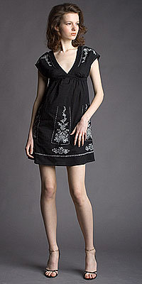$42.00: Embroidery Empire Black Dresses by eDressMe