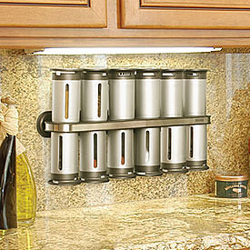 Ultimate Gift to Me, Blue Collar Style:  Zero Gravity Magnetic Spice Rack