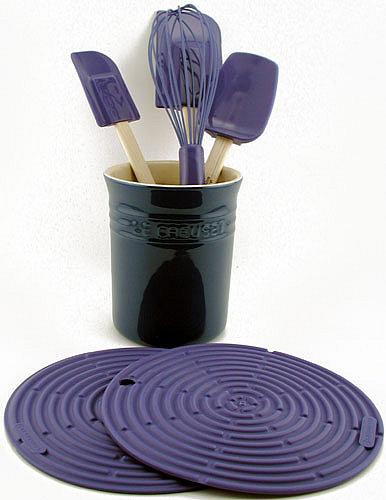 $29.95: Le Creuset Silicone Tools Set (Blue)