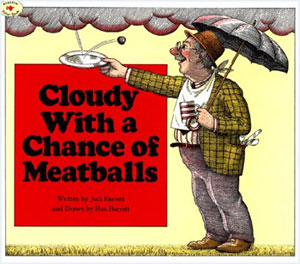 Texts and Tunes: Cloudy With a Chance of Meatballs