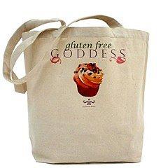 Gluten Free Goddess Tote Bag : gluten : CafePress.com