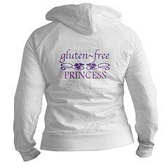 Gluten Free Princess Jr. Hoodie : gluten : CafePress.com