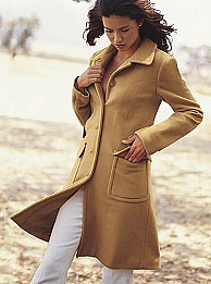 Victoria's Secret - Classic wool coat in solids