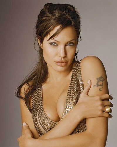 Angelina Loves To Strip Down For Movies