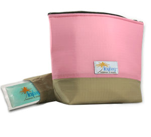 Bellissima! A Stay-Cool Cosmetics Bag