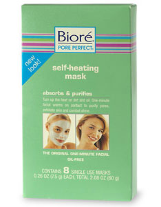 Doing Drugstore: Biore Self-Heating Mask
