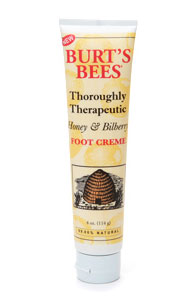 Doing Drugstore: Burt's Bees Thoroughly Therapeutic Foot Creme